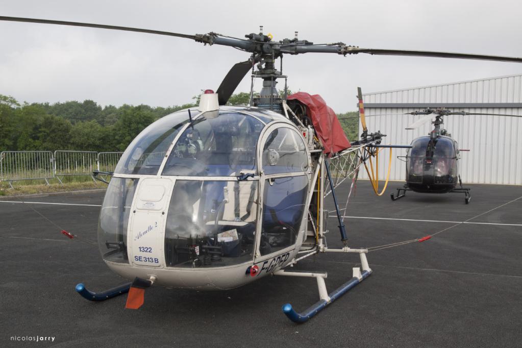 Rassemblement national d'hélicoptères - Cholet (F) - 5 june 2016