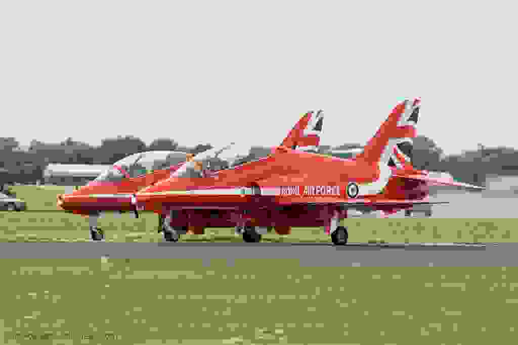 Hawk - Red Arrows - Royal Air Force - Armée de l'Air - Royaume-