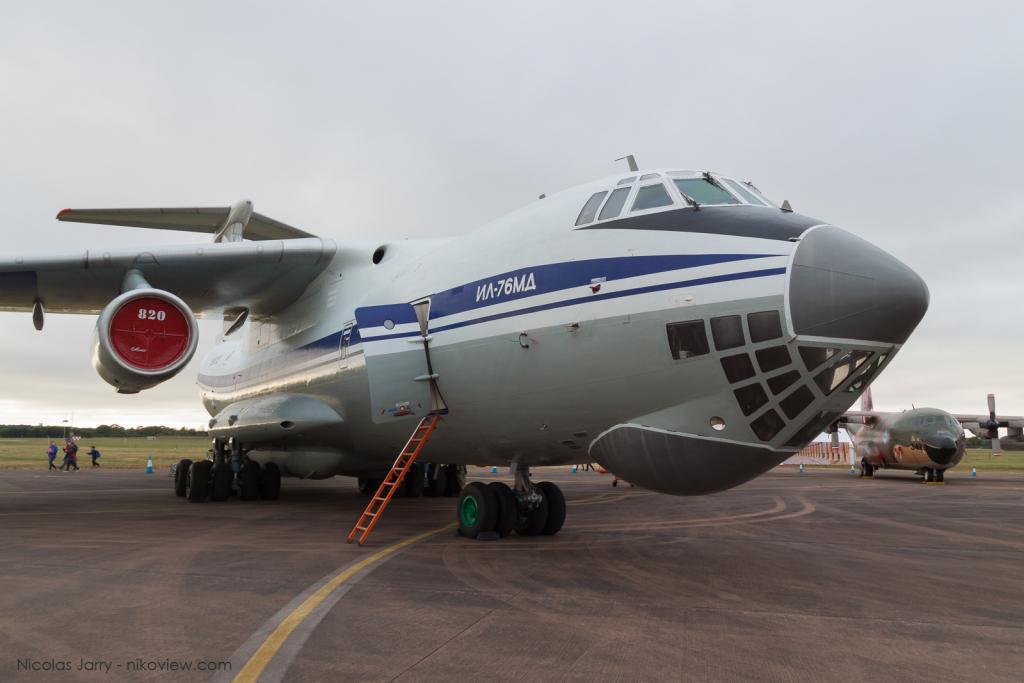 """Il-76 """"Candid"""" - Ukrainian Air Force - Armée de l'air - Ukraine"""