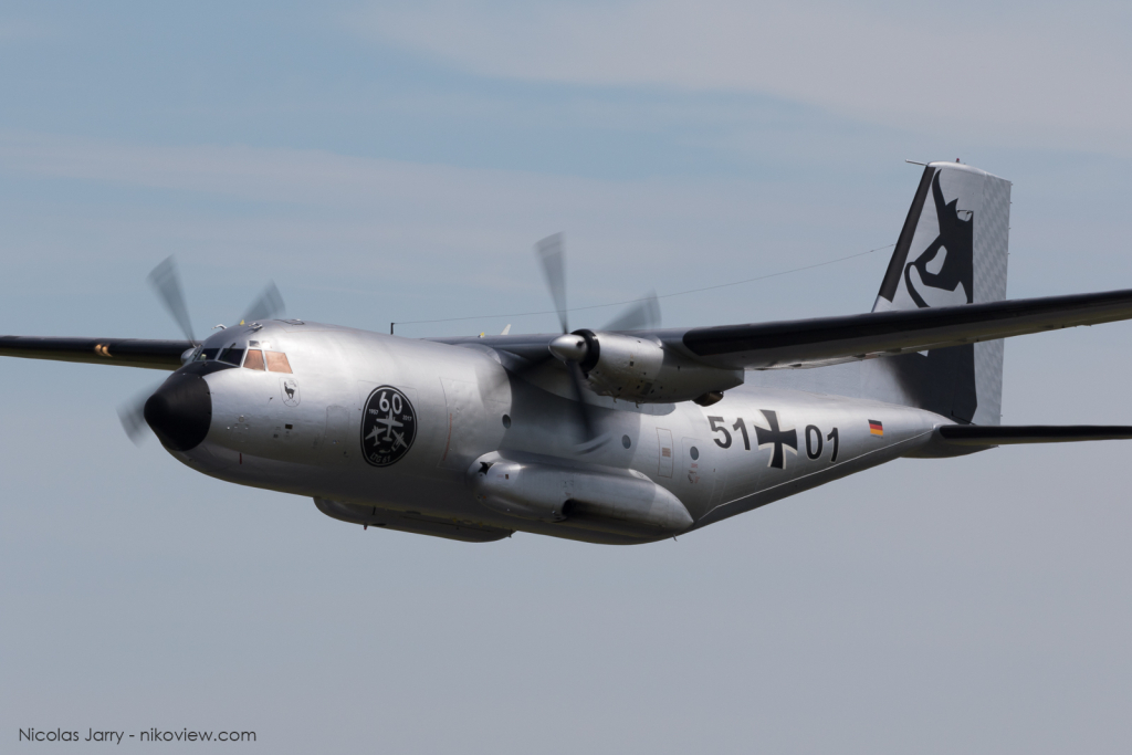 C-160D Transall - Luftwaffe - Armée de l'air - Allemagne