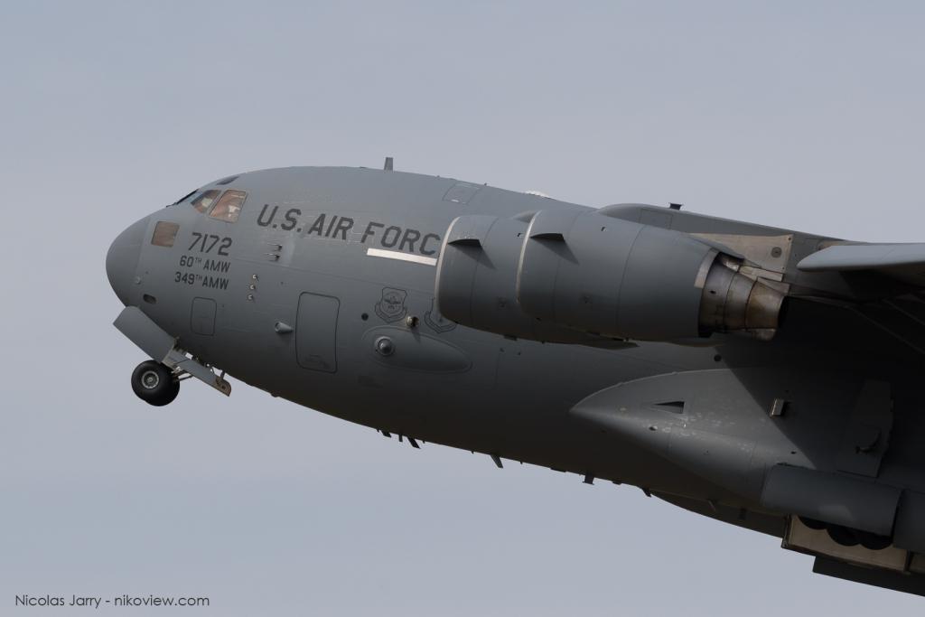 C-17A Globemaster III - US Air Force - Armée de l'air - Etats-U