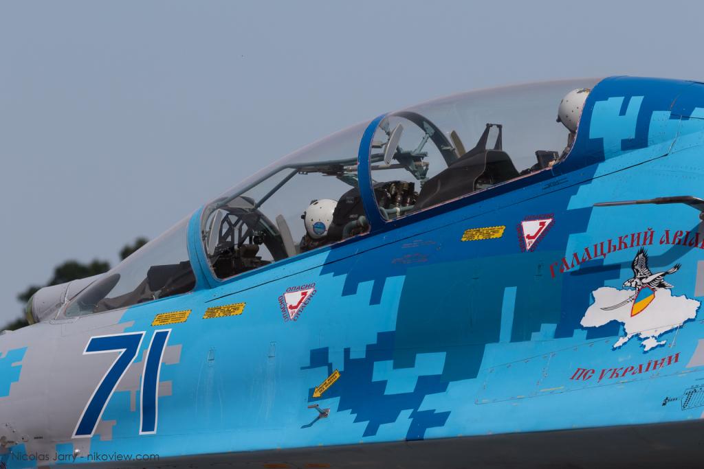 "Su-27 ""Flanker"" - Ukrainian Air Force - Armée de l'air - Ukrain"