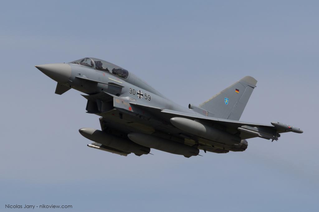 EF2000 - Luftwaffe - Armée de l'air - Allemagne