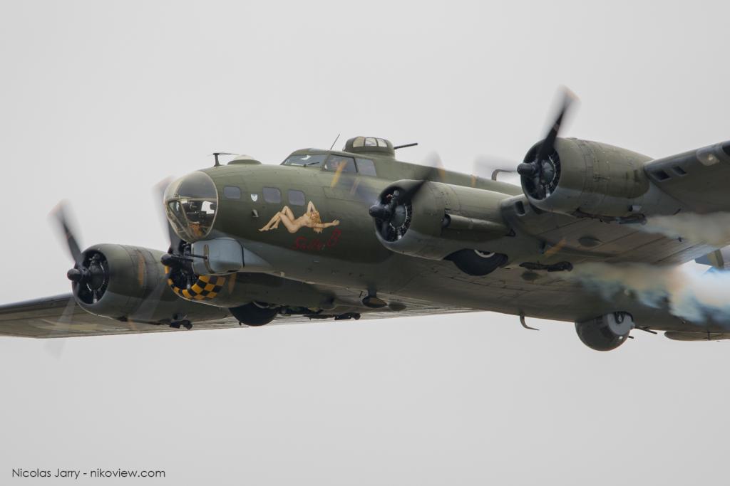 "B-17G ""Sally B"" Flying Fortress"