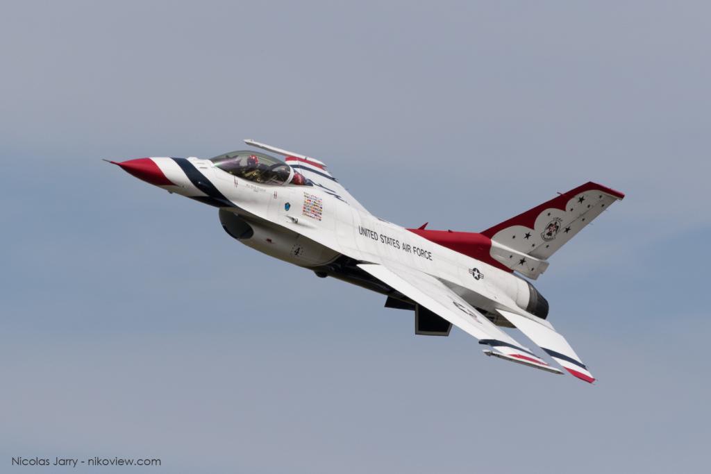 F-16C - Thunderbirds - US Air Force - Armée de l'air - Etats-Un