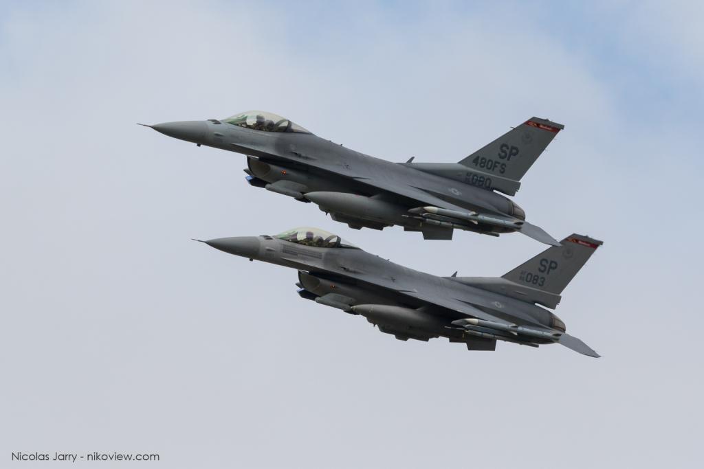 F-16C - US Air Force - Armée de l'air - Etats-Unis