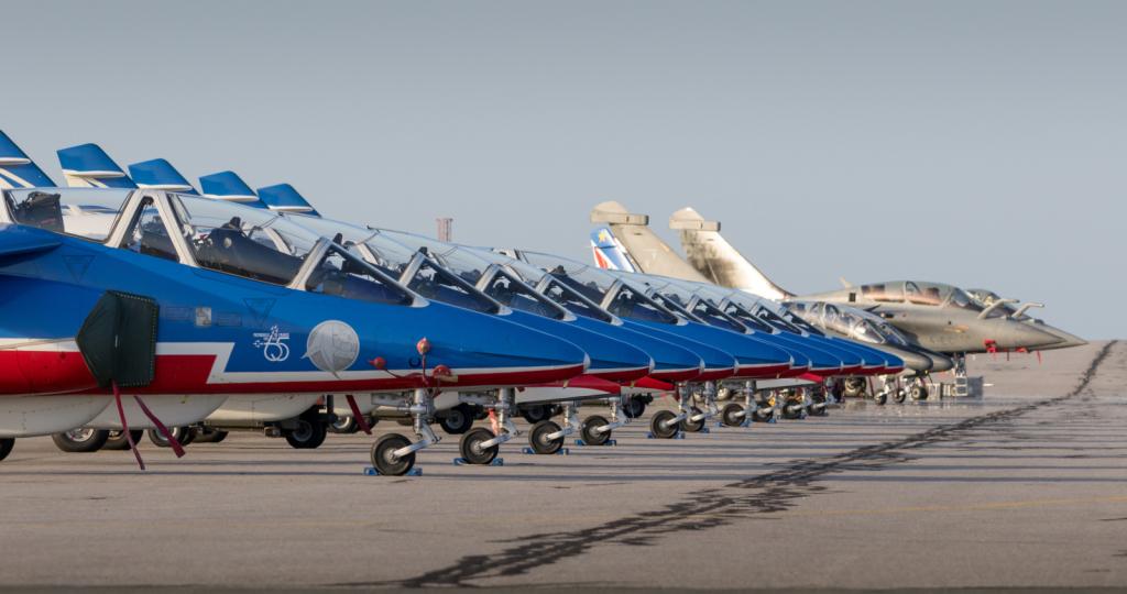 Alphajet E - Patrouille de France - Armée de l'air - France