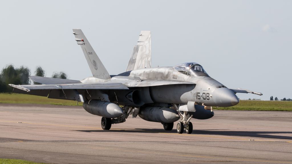 F/A-18 Hornet - Ejercito del aire - Armée de l'air - Espagne