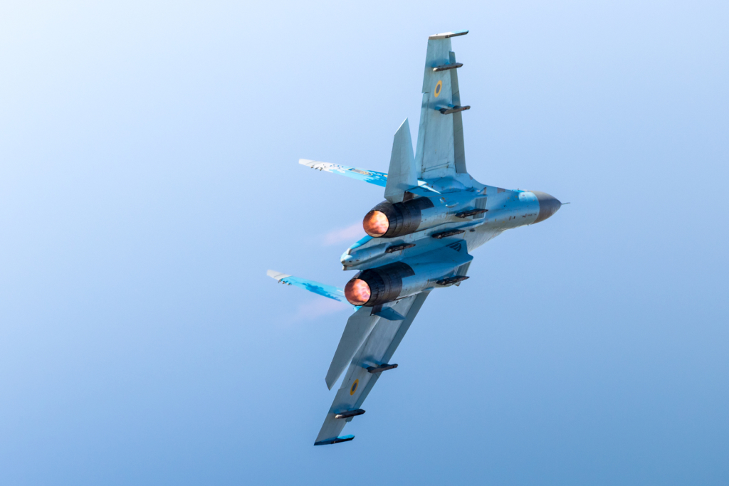"Su-27 ""Flanker"" - Ukrainian Air Force - Armée de l'air - Ukrain"