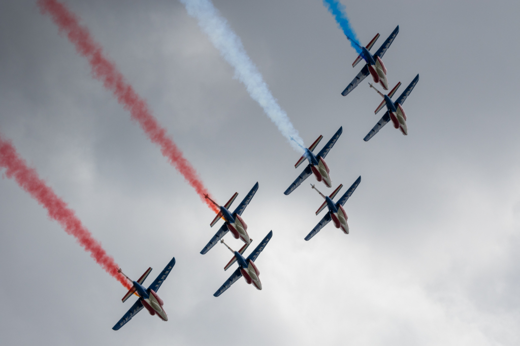Alphajet E - Patrouille de France - Armée de l'Air - France